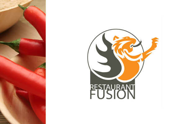 Graphic design & Branding Restaurant Fusion
