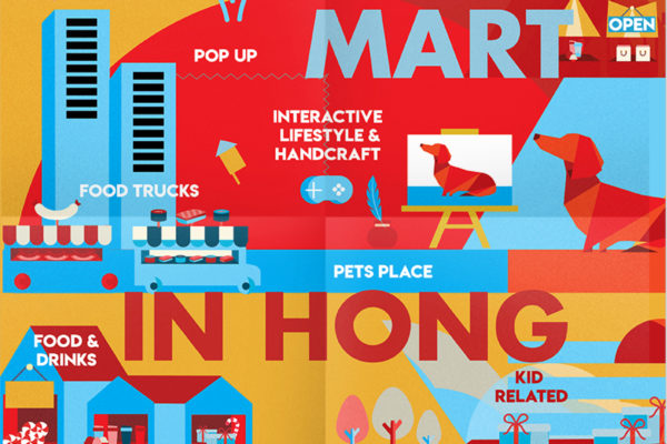 Campagne ontwerp & illustratie Mart in Hong Kong